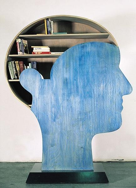 Brain Bookshelf. Image from dokumaciorumcek