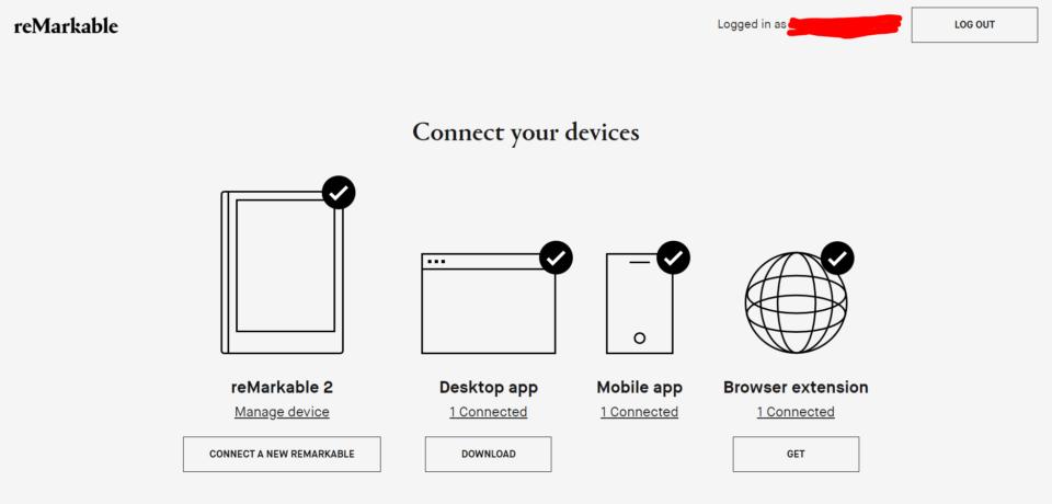 Les différentes applis pour tablette reMarkable 2