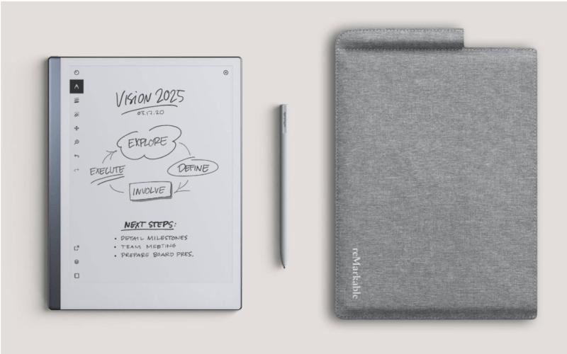 Le papier numérique : retour d'expérience reMarkable 2
